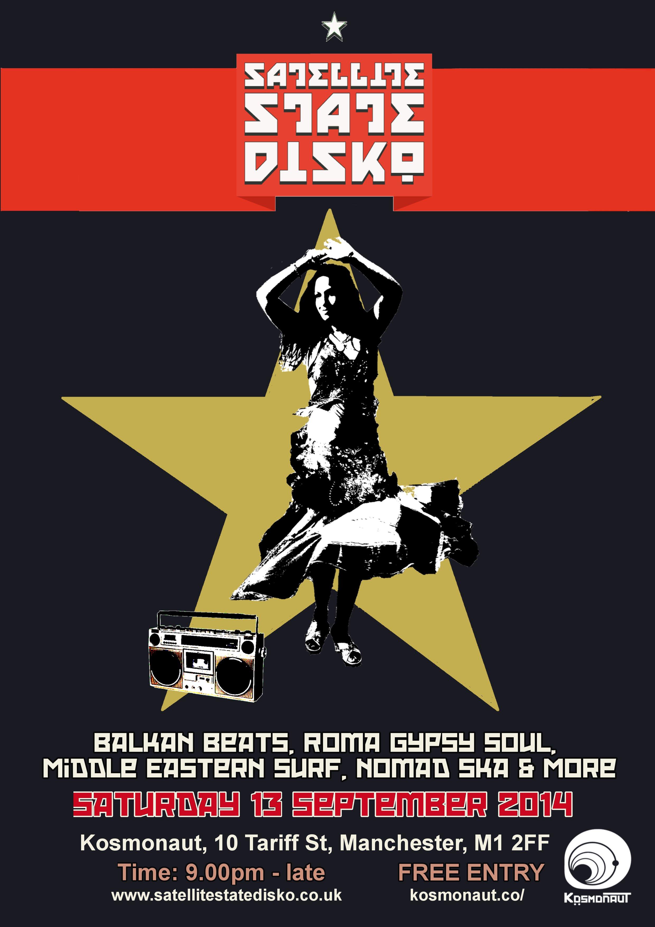SSD poster Kosmonaut Sep 2014